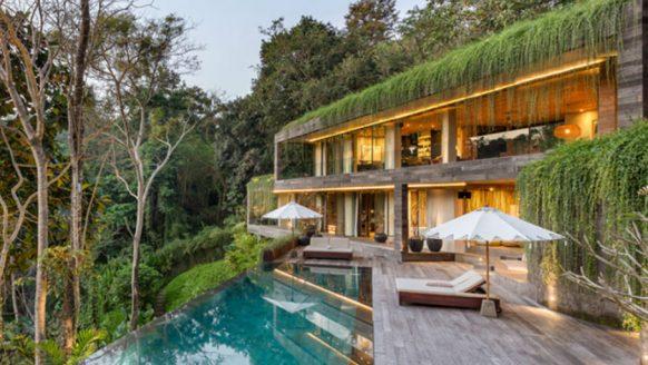 Deze villa op Bali is een parel in de jungle