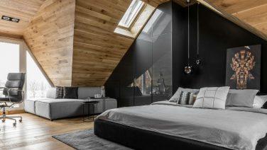 Het bewijs dat een zolderkamer bijzonder stijlvol kan zijn