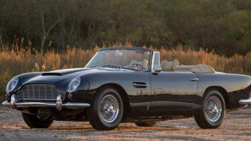 Waan je James Bond in deze Aston Martin DB5 uit 1965