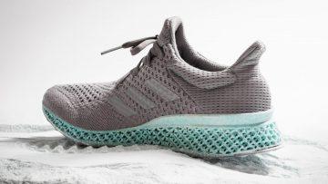 best website fa071 5ee39 Adidas Futurecraft is 3D geprint en van oceaan plastic
