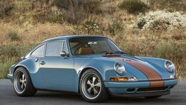 Deze Singer Porsche in Gulf kleuren is het beste wat je vandaag gaat zien