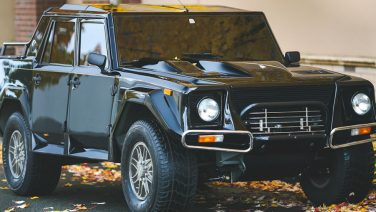 1990 Lamborghini LM002: De eerste high-performance SUV