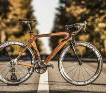 Deze houten fiets is luxe van het hoogste niveau