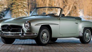 Een waar pareltje: 1956 Mercedes-Benz 190 SL