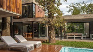 Deze luxe woning midden in de natuur is het ultieme gevoel van vrijheid