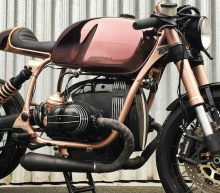 Deze koper-kleurige BMW R100 R Mystic is de tofste motor die je vandaag zal zien
