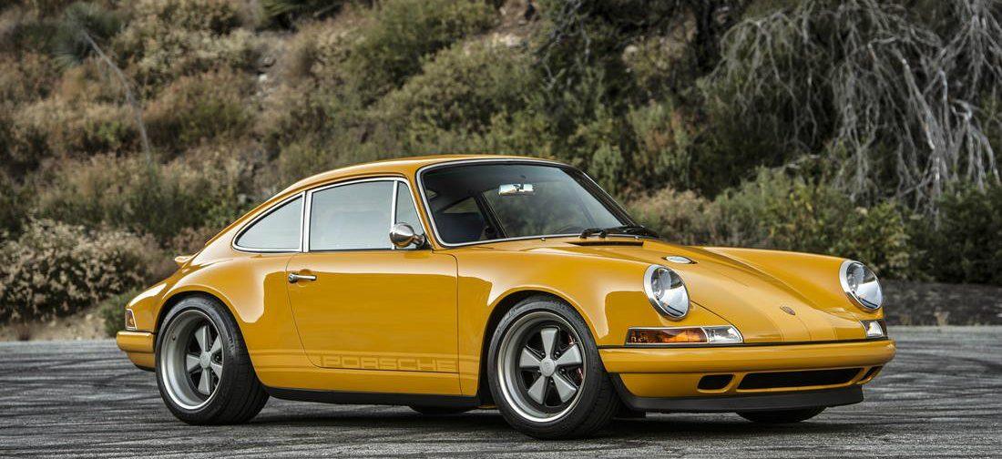 Deze okergele Porsche 911 van Singer is om van te watertanden