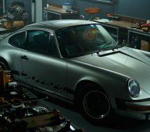 Neem een kijkje in deze schitterende Porsche garage