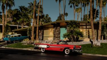Palm Springs is dé plek bij uitstek voor de architectuur- en autoliefhebber