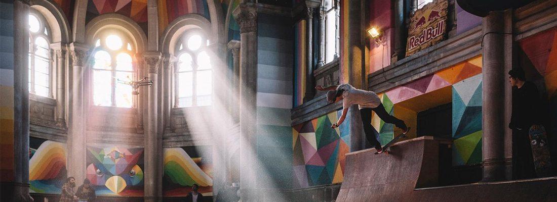 Church Brigade bouwt kerk om tot awesome skatepark