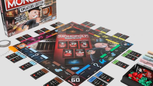De Monopoly Cheaters Edition is het perfecte spel voor valsspelers