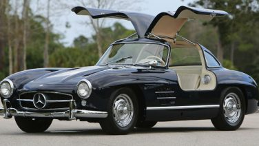 Deze 300 SL Gullwing van Mercedes laat je zweven