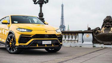 Parijs en de Lamborghini Urus: een combinatie om van te dromen