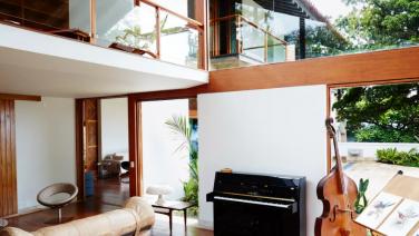 Na één stap binnen deze Brazilliaanse villa wil jij niet meer weg