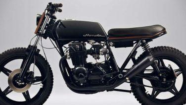Deze 1980 Honda CB650 BL2 is klasse op twee wielen