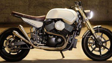 Deze customized Harley Davidson is de perfecte mix van ruw en stijlvol
