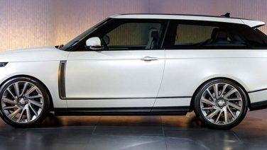 Land Rover presenteert de Range Rover SV Coupé
