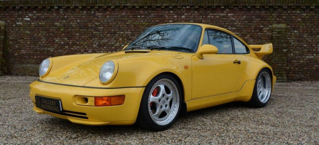 Deze gele verschijning is de meest exclusieve Porsche van ons land