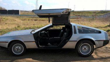 Deze iconische Delorean DMC 12 uit Back to the Future staat nu te koop
