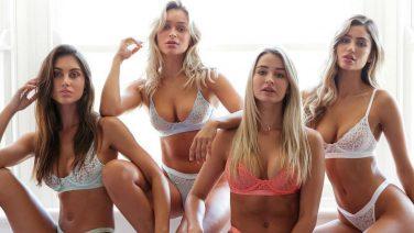 Lounge Underwear laat de mooiste dames schitteren in lingerie