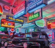 Deze retro neon borden zijn een must-have voor de vintage liefhebber