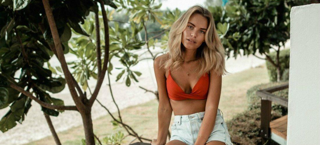Marielle Lindahl bewijst de schoonheid van Zweden