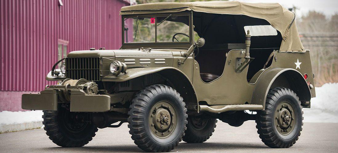 Uitgelezen kans: deze historische Dodge uit 1945 gaat onder de hamer