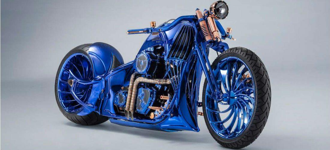 Dit is één van de meest unieke Harley-Davidsons ter wereld