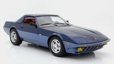 Deze Ferrari behoort tot één van de drie unieke creaties van Chinetti en Michelotti