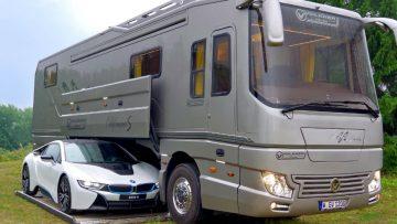 Deze luxe camper van $1.7 miljoen heeft alles wat je maar kan wensen