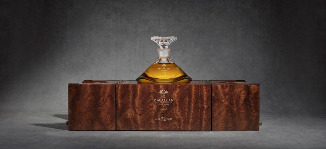 Deze 72 jarige whisky is de oudste whisky van The Macallan tot nu toe