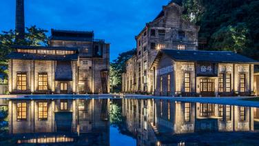 Deze suikerfabriek is omgetoverd tot één van de meest indrukwekkende hotels