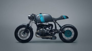 Deze custom BMW R80 caféracer is Duitse techniek ten top