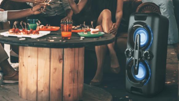 Aldi komt opnieuw met een zomerknaller: een bruut party-soundsysteem
