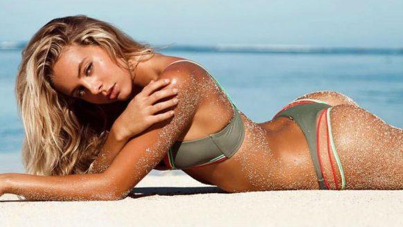 Bree Lynn Kleintop tilt het begrip 'surfbabe' naar een ongekend hoog level