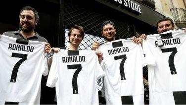 Juventus verdient binnen 24 uur een bizar bedrag aan de shirtverkoop van Ronaldo