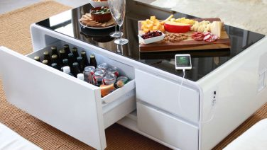 Deze salontafel is de droom van elke man
