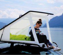 Deze tweepersoons pop-up tent maakt jouw kampeerervaring beter dan ooit