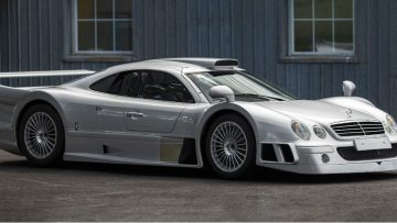 Buitenkans: deze zeer zeldzame Mercedes-Benz AMG CLK GTR staat te koop