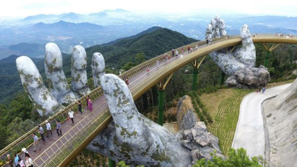 Golden Bridge: dé meest indrukwekkende brug van Vietnam