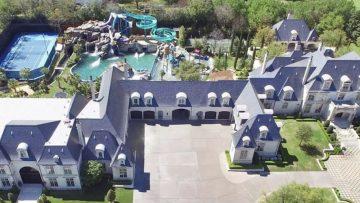 Voor $28 miljoen koop je dit huis mét eigen waterpretpark in de achtertuin