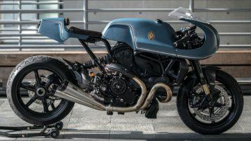 Dit is dé custom bike waar elke man van droomt