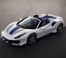 De nieuwe Ferrari 488 Pista Spider is een verademing voor 't oog