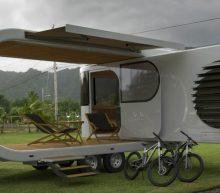 Romotow: de next-level caravan met een uitschuifbaar terras
