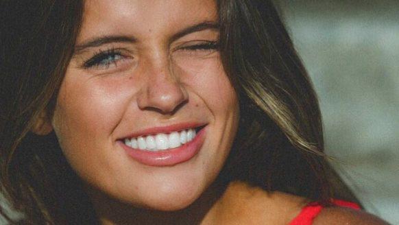 Tess Homann is ongetwijfeld de schattigste verschijning van dit weekend