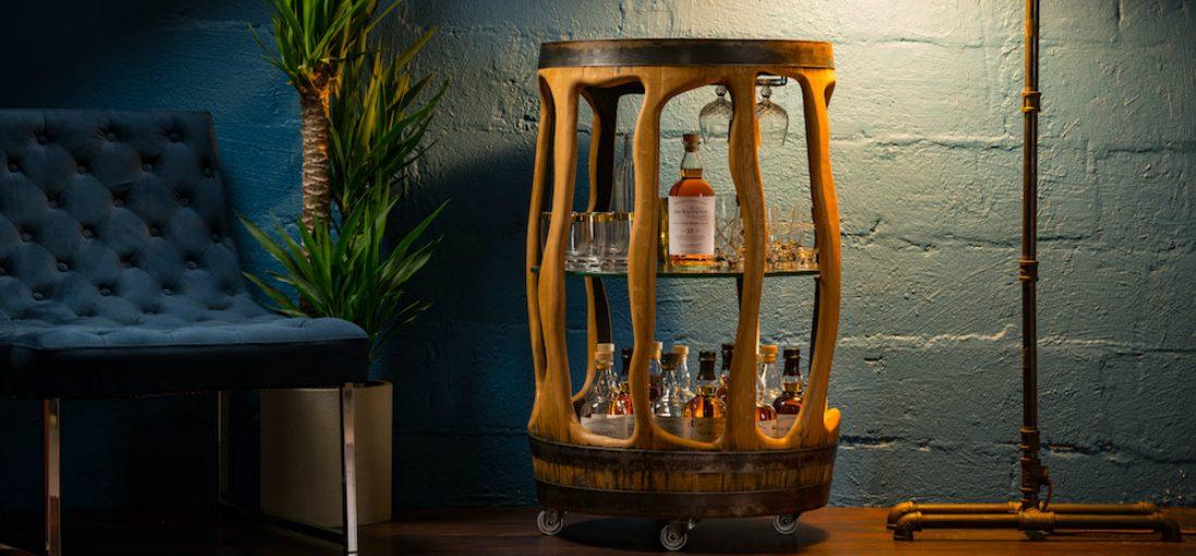 Met deze brute whiskytafel maak je gegarandeerd indruk op je maten