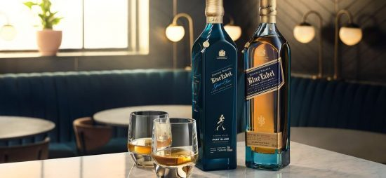 Johnnie Walker lanceert deze maand een nieuwe limited edition Blue Label