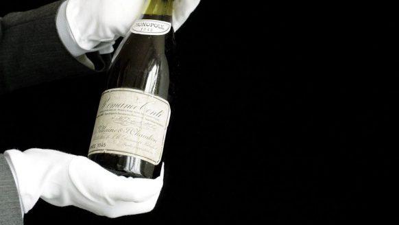 Deze historische fles mag zich sinds dit weekend 'de duurste wijn ooit' noemen