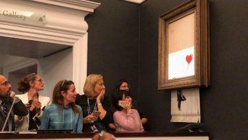 Dit is hoe de geheimzinnige Banksy zijn stunt eigenlijk voor ogen had