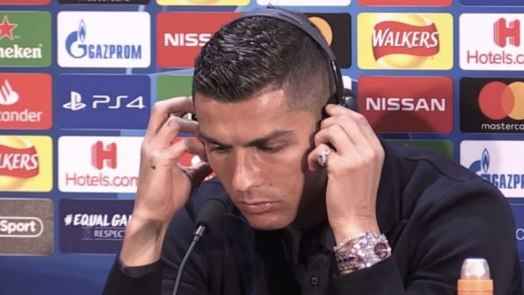 Cristiano Ronaldo steelt de show met een horloge van $2 miljoen